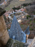 Statek, Alcazar, Segovia, Hiszpania Zdjęcie Stock