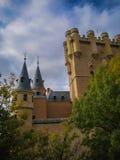 Statek, Alcazar, Segovia, Hiszpania Fotografia Stock