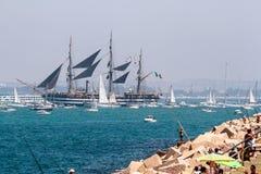 Statek Amerigo Vespucci Zdjęcie Stock