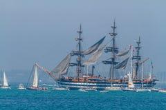 Statek Amerigo Vespucci Obrazy Stock