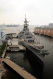 statek bojowy Obraz Royalty Free