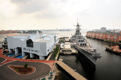 statek bojowy Zdjęcia Stock