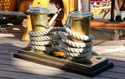 Statek cumownica Zdjęcia Royalty Free
