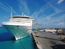 statek cumujący Zdjęcia Stock