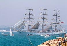 Statek Dar Mlodziezy Fotografia Royalty Free