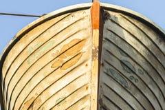 Statek Drewniana łódź ratunkowa Fotografia Stock