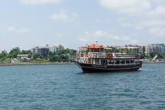 Statek i morze Fotografia Stock