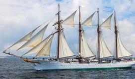 Statek Juan Sebastian De Elcano Zdjęcie Stock