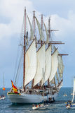 Statek Juan Sebastian De Elcano Obraz Stock