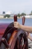 Statek kierownica Zdjęcia Royalty Free