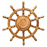 Statek kierownica Obraz Royalty Free