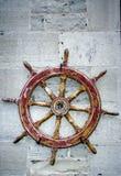 Statek kierownica na pokazie Obrazy Royalty Free