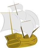 Statek kolorystyka Obrazy Royalty Free