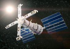 Statek kosmiczny zdjęcie stock