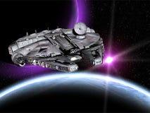 statek kosmiczny gwiezdne wojny royalty ilustracja