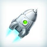 Statek kosmiczny ikona Zdjęcie Stock