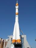 Statek kosmiczny SOYUZ przygotowywa konkieta przestrzeń i dukty Obraz Royalty Free