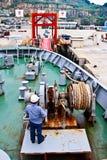 Statek kotwica Zdjęcie Stock