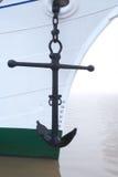 Statek kotwica obraz royalty free