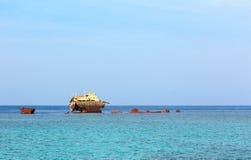 Statek Loullia Fotografia Royalty Free