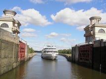 statek śluza Fotografia Stock