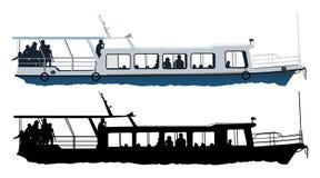 statek mały royalty ilustracja