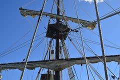 statek masztowy wysoki Zdjęcie Royalty Free