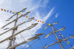 statek masztowy wysoki Obraz Stock