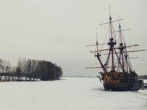 Statek - muzeum Fotografia Royalty Free