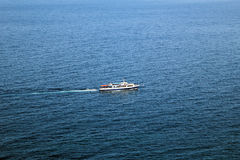 Statek na czarnym morzu Obrazy Royalty Free