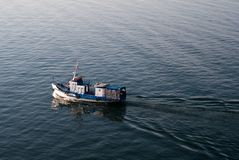 Statek na Jeziornym Baikal Zdjęcie Stock