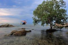 Statek na mieliźnie Zdjęcie Royalty Free