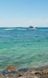 Statek na oceanie, Key West Zdjęcia Royalty Free
