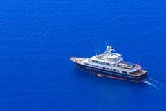 Statek na wodzie Fotografia Stock