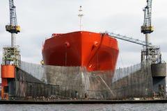 Statek naprawa Fotografia Stock