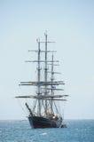 Statek od drewna przy morzem Obrazy Royalty Free