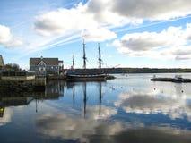 Statek past sceniczny Zdjęcia Royalty Free