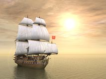 statek piracki