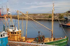 statek połowów girvan trawler Scotland Obrazy Stock