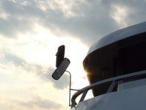Statek przy Balaton jeziorem fotografia stock