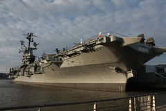Statek przy kotwicą Zdjęcie Stock