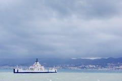 Statek przy morzem Fotografia Stock