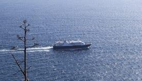 Statek przy morzem Zdjęcia Royalty Free