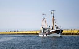 statek rzeczny Fotografia Royalty Free
