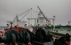 Statek - - statek operacja Obrazy Stock