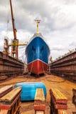 statek suchego doku Zdjęcie Stock