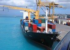 statek towarowy Obraz Royalty Free