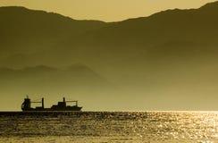 statek towarowy Zdjęcia Royalty Free