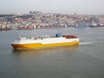 statek towarowy obrazy stock