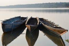 Statek trzy Zdjęcia Stock